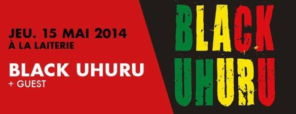 """Jeudi 15 mai """"Black Uhuru + guest"""" à la Laiterie à Strasbourg"""