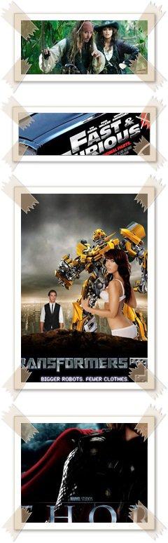 Les films les plus attendus de l'année 2011