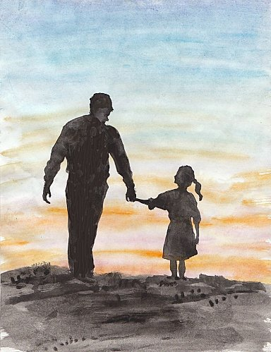 Tu me manque Papa ..   Citation marine