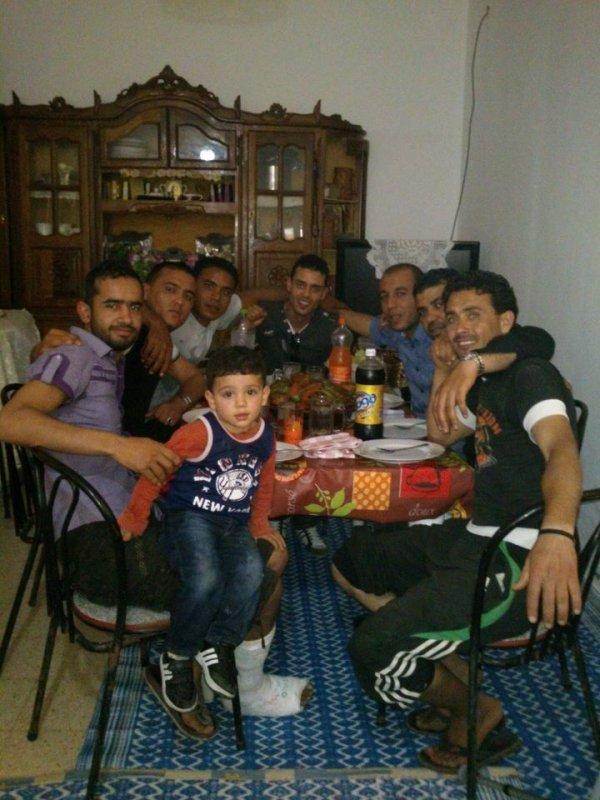 ma famille avec mes amis