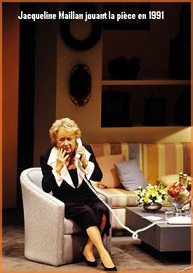 Pièce Montée - de Pierre Palmade avec Jacqueline Maillan