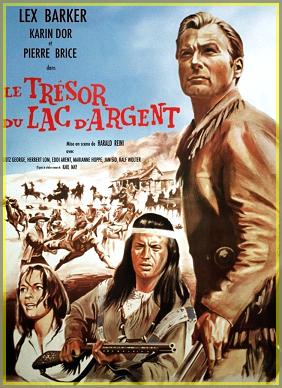 1962  -  Le Trésor du lac d'argent