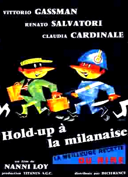 1960  -  Hold-up à la milanaise