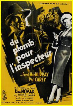 1954  -  Du plomb pour l'inspecteur