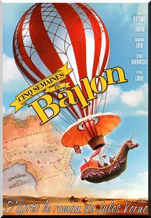 1962  -  Cinq semaines en ballon