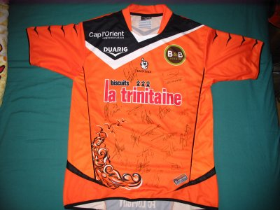 FC LORIENT MAILLOT 2009/2010