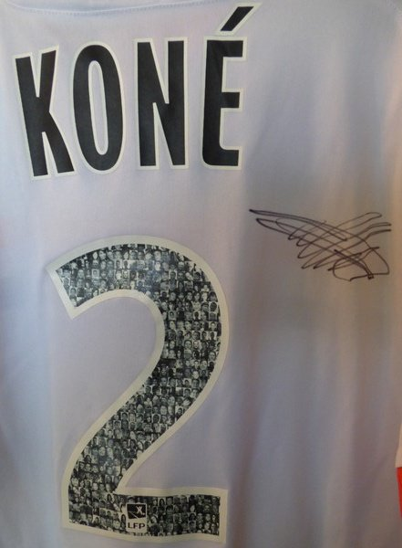 MAILLOT FC LORIENT 2013-2014 Lamine Koné