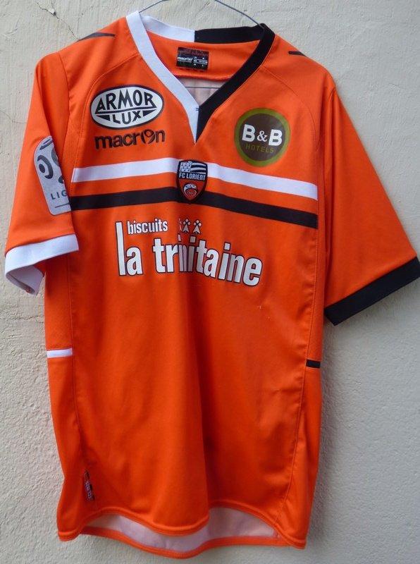 MAILLOT FC LORIENT 2013-2014 Gilles SUNU