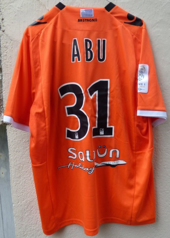 MAILLOT FC LORIENT 2012-2013 Mohammed ABU