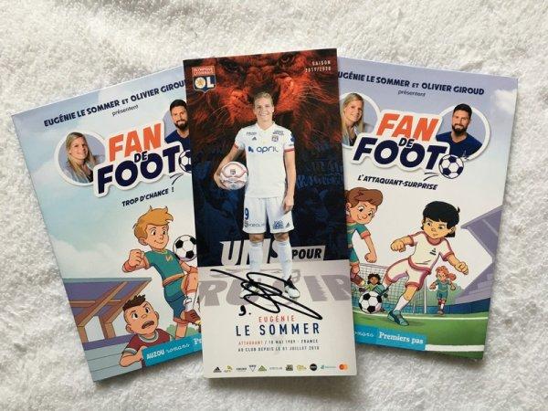 FAN DE FOOT Eugénie Le Sommer/Olivier Giroud 2020