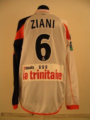 Maillot FC LORIENT porté par KARIM ZIANI