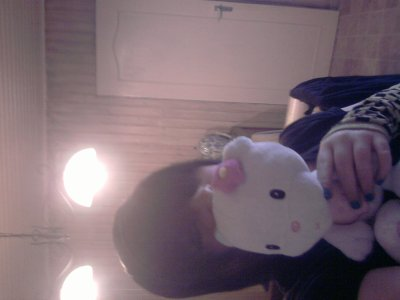 me et hello kitty <3