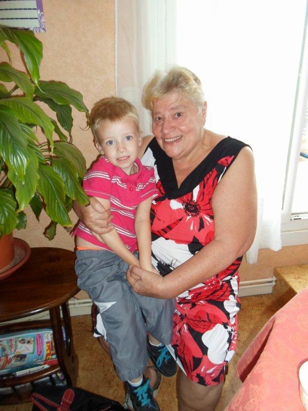 corentin avec mami