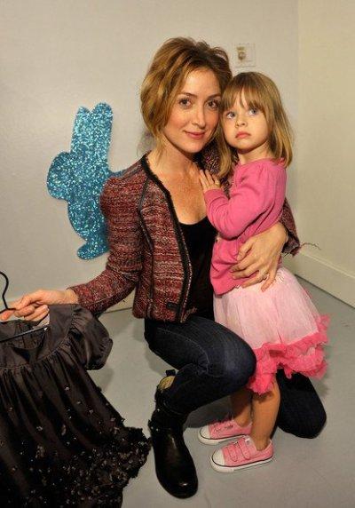 Sasha Alaxander et sa fille Lucia Sofia