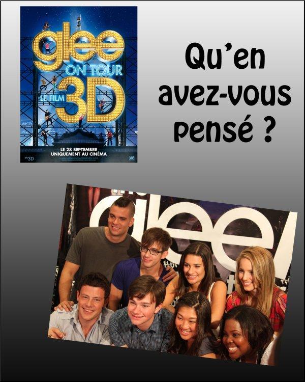 Glee Le Film