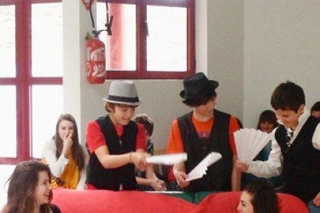 teatro en español con los alumnos de 3ero ( 2011-2012)