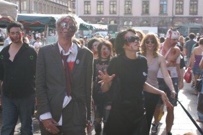 Quelques photos de la Zombie Walk de Strasbourg