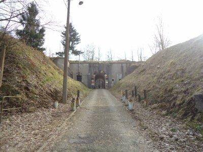 visite du fort d'embourg