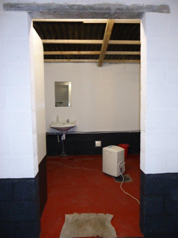 réalisation nouveau wc