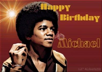 Happy Brithday Michael