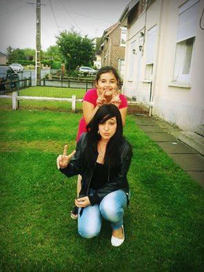 La petite cousine et moi  ♥