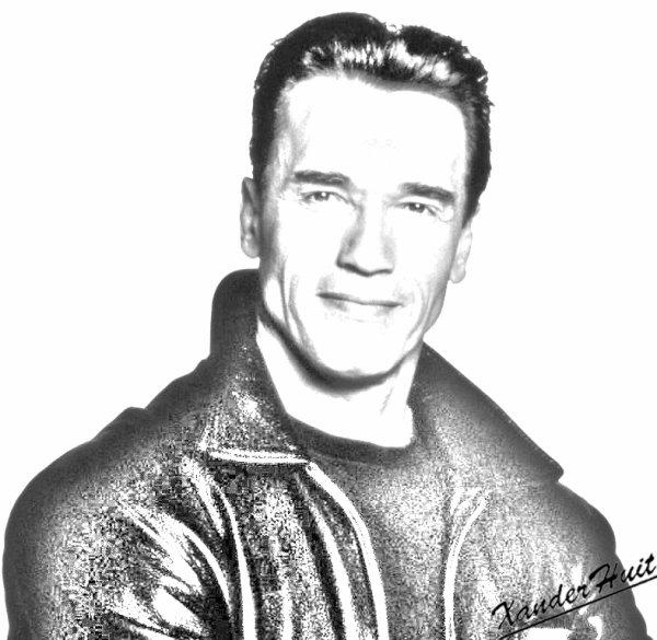 Portrait Arnold Schwarzenegger by XanderHuit