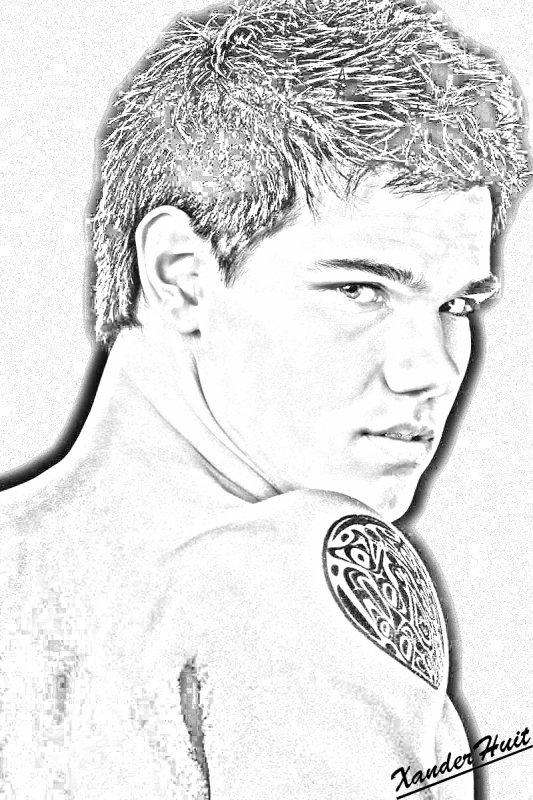 Portrait Taylor Lautner by XanderHuit