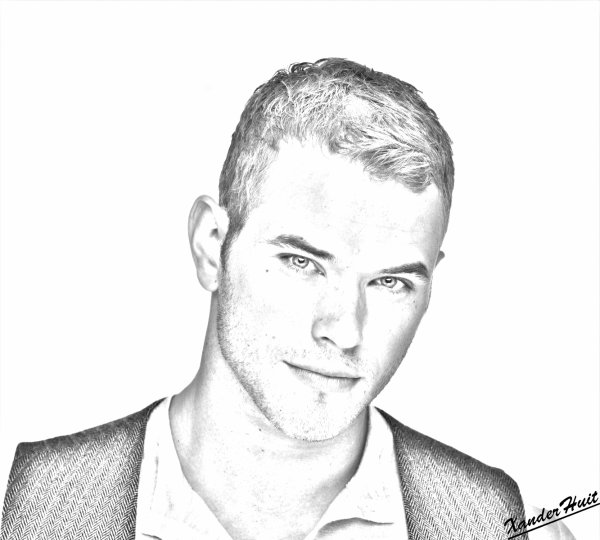 Portrait Kellan Lutz by XanderHuit
