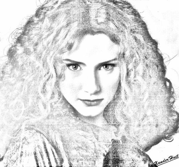 Portrait Racelle Lefevre by XanderHuit