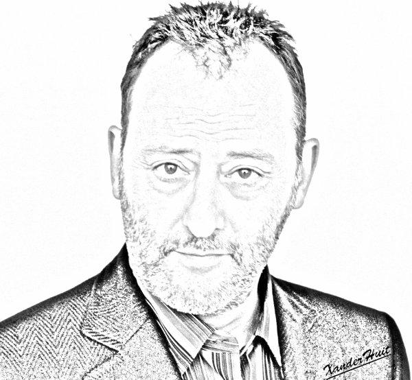 Portrait Jean Reno by XanderHuit