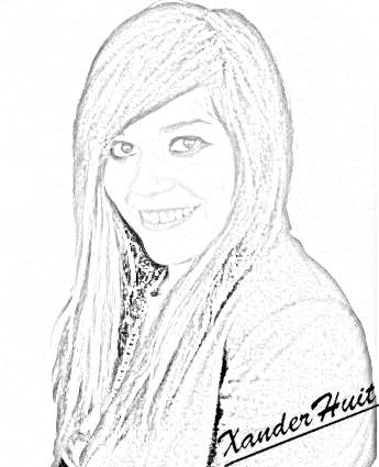 Portrait Jena Lee by XanderHuit