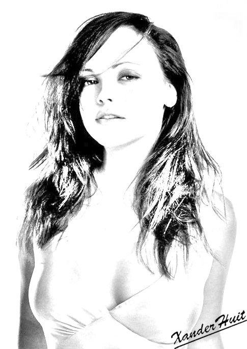 Portrait Christina Ricci by XanderHuit