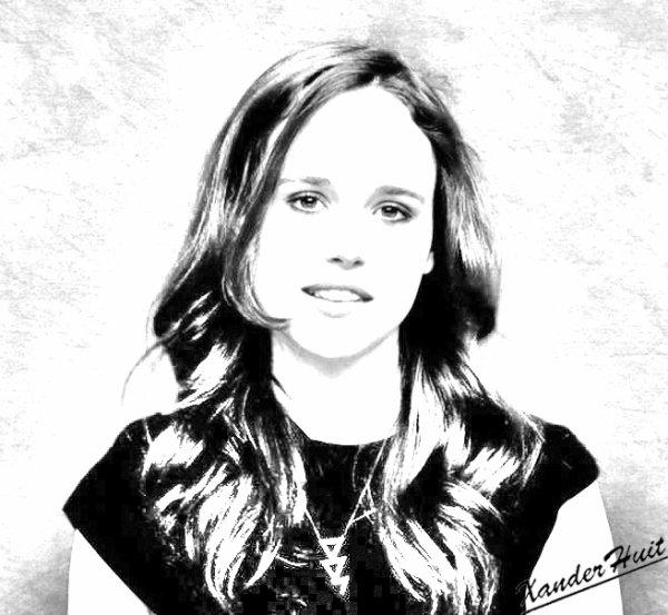 Portrait Ellen Page by XanderHuit