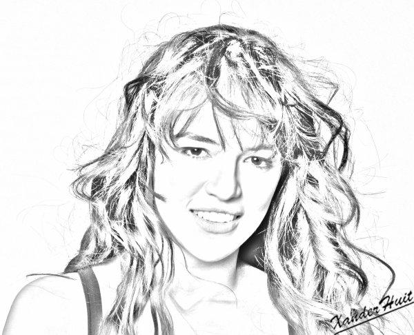 Portrait Michelle Rodriguez by XanderHuit