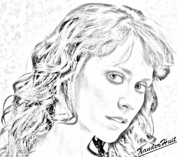 Portrait Jennifer Love Hewitt by XanderHuit