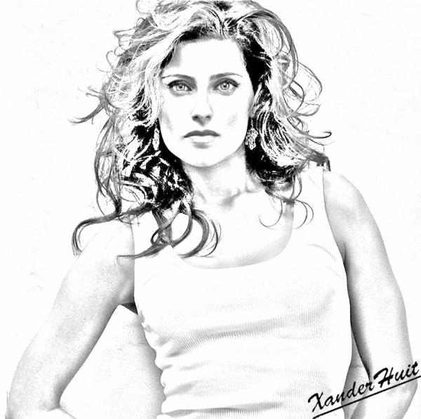 Portrait Nelly Furtado by XanderHuit