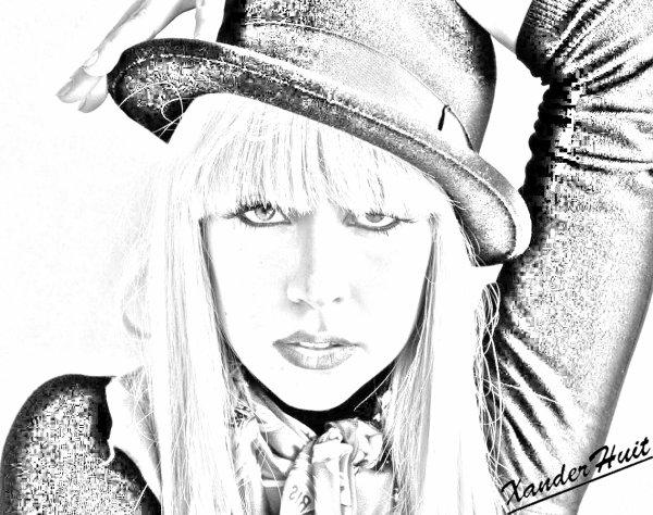 Portrait Lady Gaga by XanderHuit