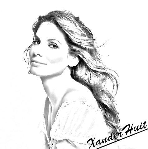 Portrait Sandra Bullock by XanderHuit