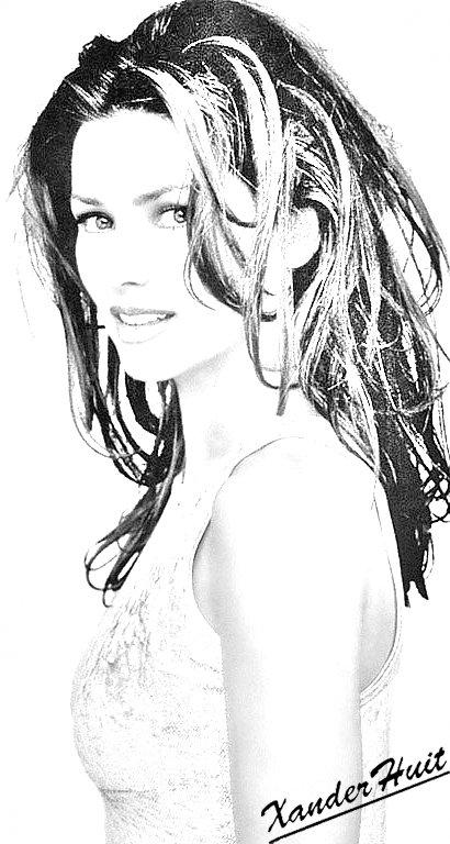 Portrait Shania Twain by XanderHuit