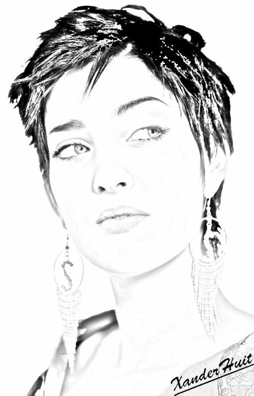 Portrait Sheryfa Luna by XanderHuit