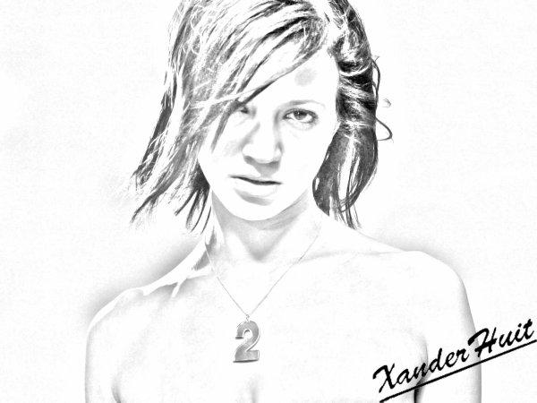 Portrait Asia Argento by XanderHuit