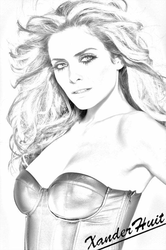 Portrait Clara Morgane by XanderHuit