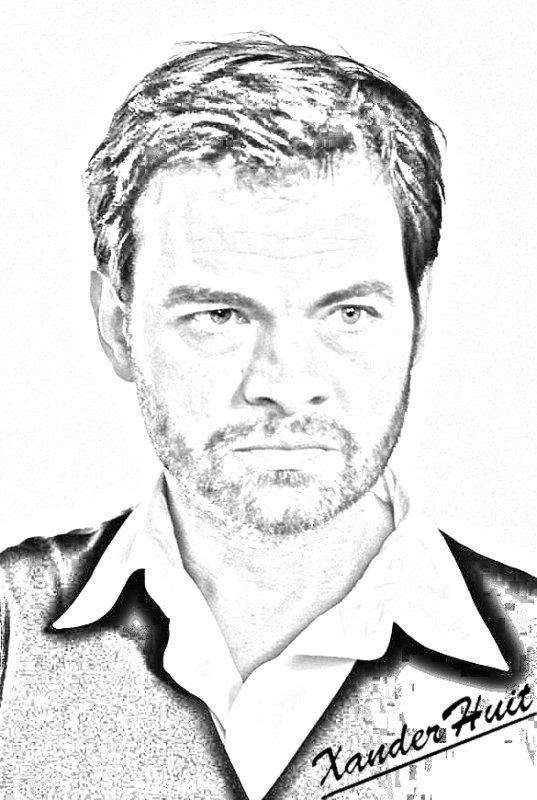 Portrait Clovis Cornillac by XanderHuit