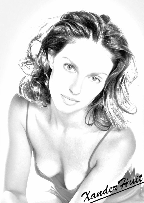 Portrait Ashley Judd by XanderHuit