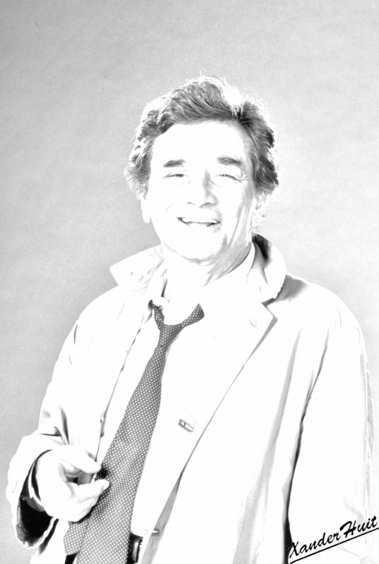 Portrait Peter Falk by XanderHuit