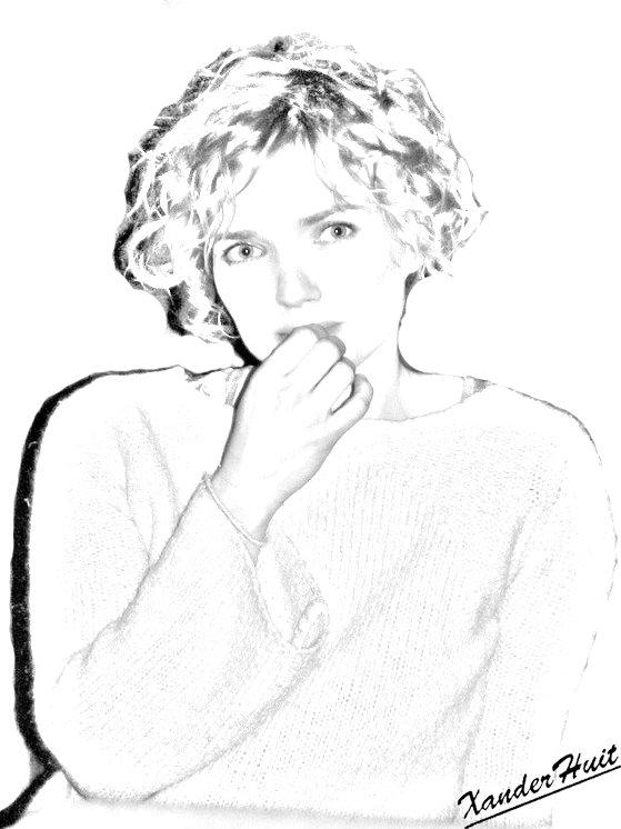 Portrait Sophie Quinton by XanderHuit