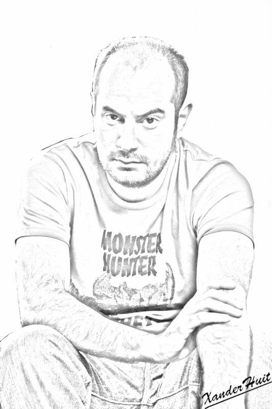 Portrait Kyan Khojandi by XanderHuit