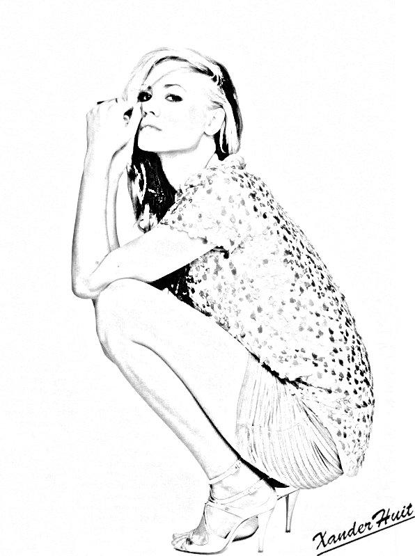 Portrait Yvonne Strahovski by XanderHuit