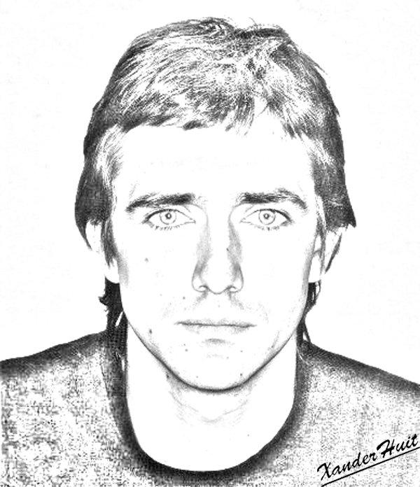 Portrait Jean Louis Murat by XanderHuit