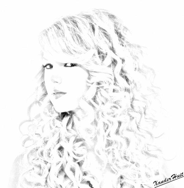 Portrait Taylor Swift by XanderHuit